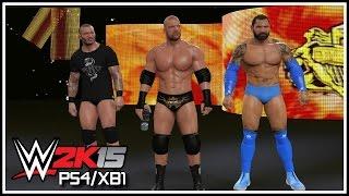 WWE 2K15 PS4/XB1 - Modern Day Evolution Entrance & RKO Bomb! (Featuring BlueTista!)