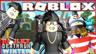 Roblox Deathrun ❄️ Winter+New Member!