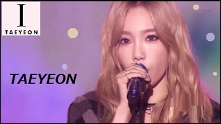 [1080p] 151016 [SNSD] TAEYEON (少女時代) / I (Feat. Kanto) & [No.1] - Music Bank [Full Cut]