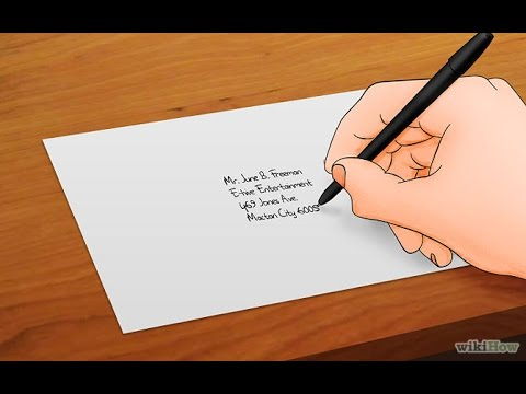 How to addressing envelopes correctly youtube how to addressing envelopes correctly thecheapjerseys Images