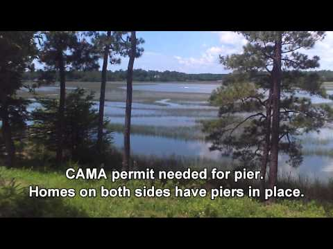 Shallotte River waterfront lot for sale - Shallotte NC