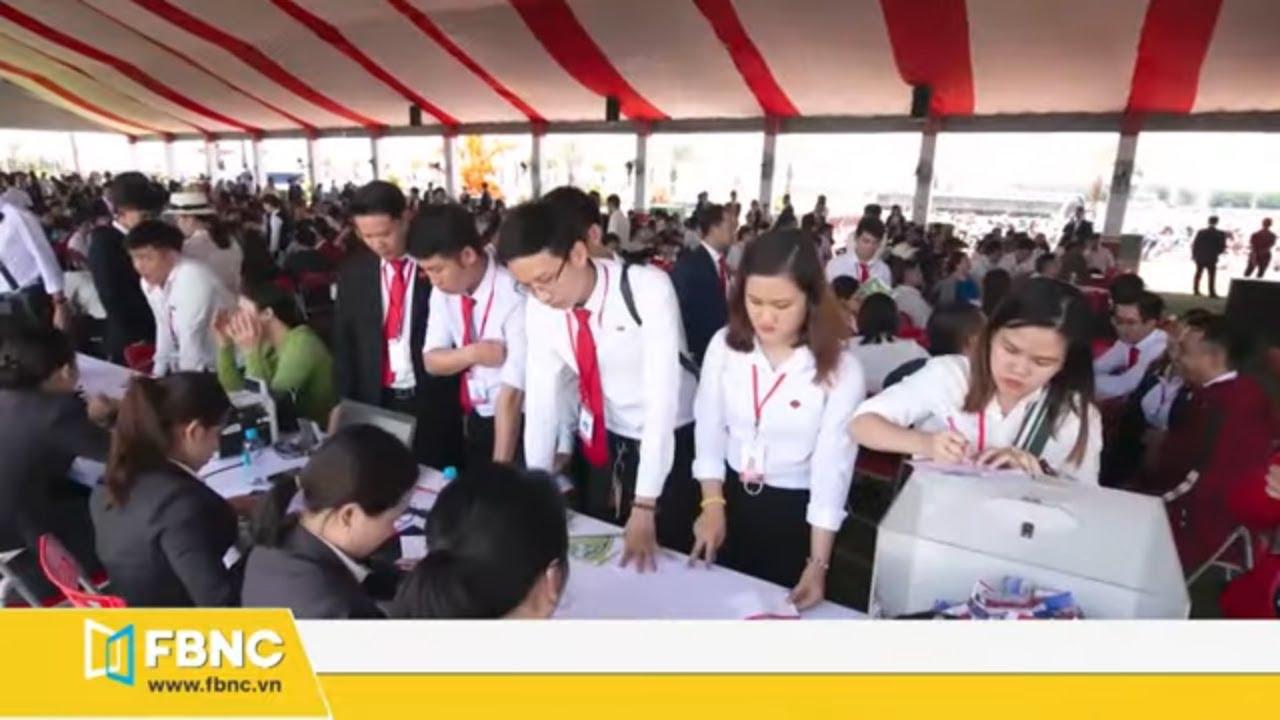 Khu đô thị phức hợp Cát Tường Phú Hưng mở bán đợt 6 | FBNC TV