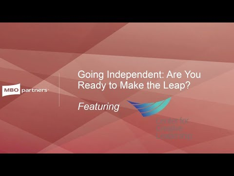 Going Independent: Are You Ready to Make the Leap