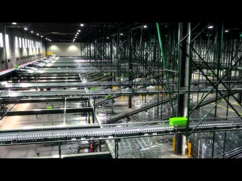 Professional HD Warehouse Drone Aerial Video 2014