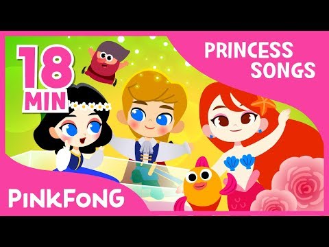 The Little Mermaids and 7+ songs | Princess Songs | Compilation | Pinkfong Songs for Children