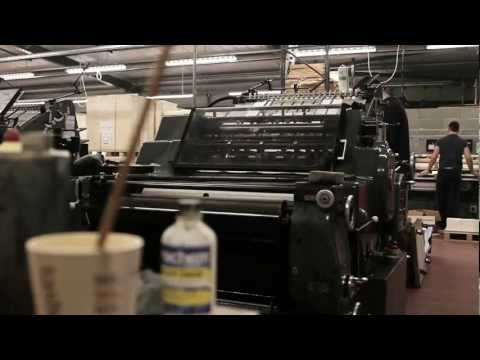 Birth of a Book: how a hardback book is made