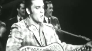 Elvis Presley Hound Dog on his first appearance on the Ed Sullivan ...