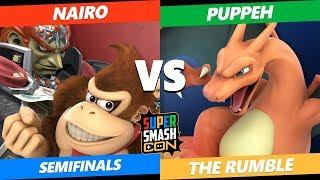 SSC2019 SSBU - NRG Nairo (Ganondorf, DK) VS  Puppeh (Charizard) The Rumble Semifinals