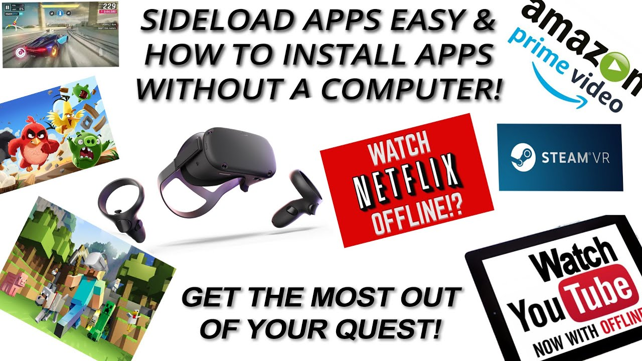 How to sideload apps on Oculus Quest / Oculus Go (and cast your screen to  your PC)!