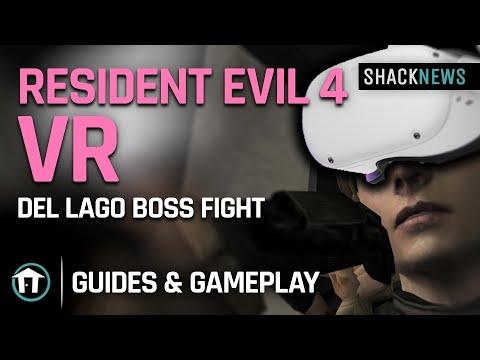 Resident Evil 4 VR - Del Logo Boss Fight