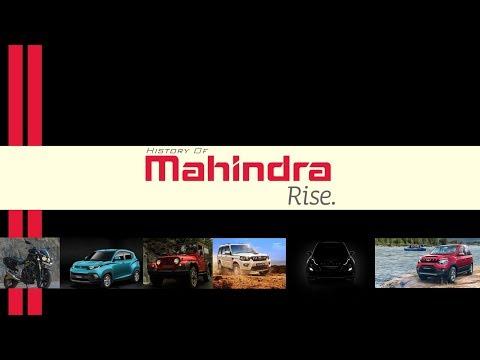 History Of Mahindra | Mahindra's Story