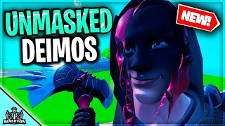 DEIMOS FACE REVEAL WHO IS BEHIND THE MASK FORTNITE