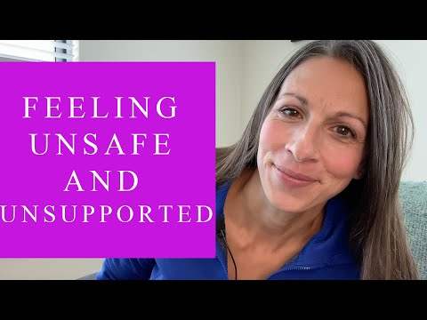 Feeling Unsafe and Unsupported In The World   Tapping With Renee