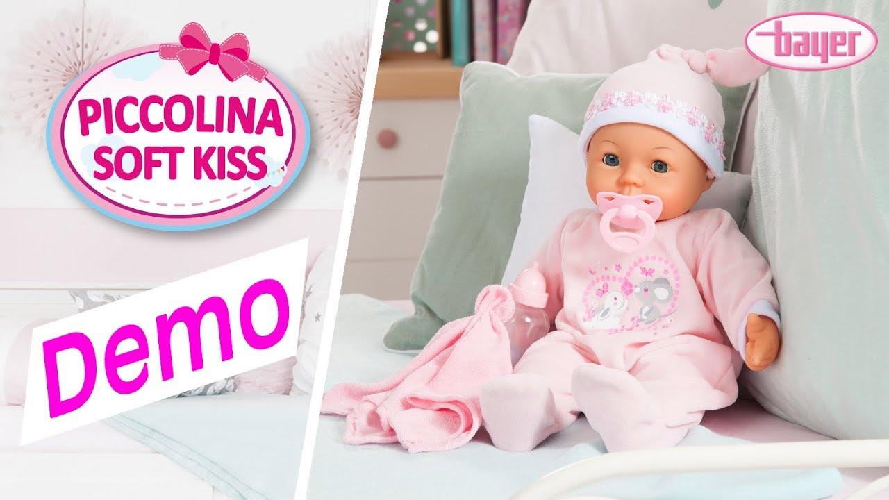 Bayer Design Puppe Piccolina Soft Kiss Baby 42 cm NEU Babypuppen & Zubehör Puppenwagen