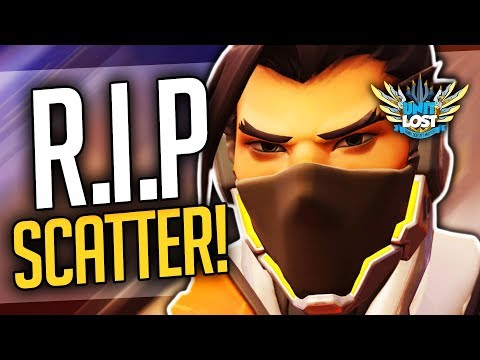 Overwatch - RIP Scatter Arrow! Hanzo New Ability Rework Soon! (Rapid Fire and Lunge)