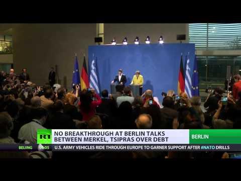 Greece & main creditor Germany discuss Athens' intl debt