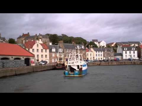 Fishing Boat Pittenweem East Neuk Of Fife Scotland September 11th