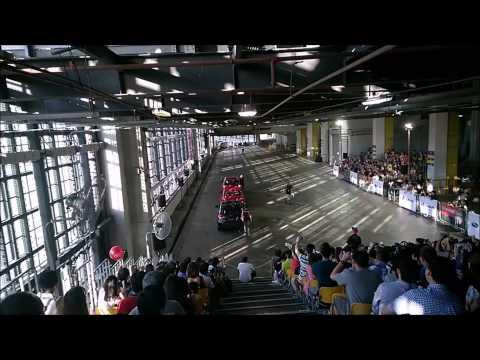 Russ Swift''s Stunt Performance @ Singapore Motorshow 2015