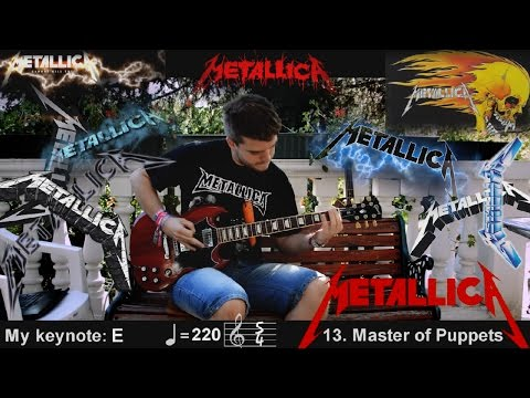 30 Metallica Songs in 1 Minute