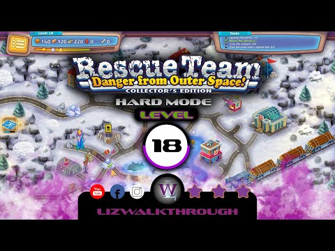 Rescue Team 10 CE - Level 18 Walkthrough - Danger from Outer Space! |