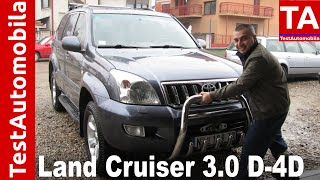 TOYOTA Land Cruiser 3.0 D-4D 2004 TEST