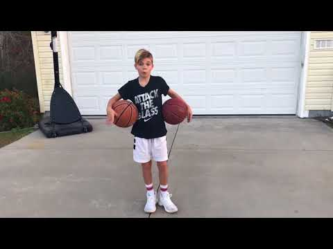 Noah Cutler 30 day basketball Challenge day 2 of 30