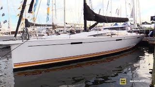 2017 Dehler 46 Sailing Yacht - Deck and Interior Walkaround - 2017 Annapolis Sail Boat Show