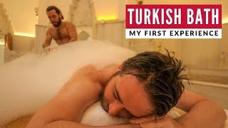 My First Traditional Turkish Hammam Bath Experience | Istanbul | Full Time Travel Vlog 20