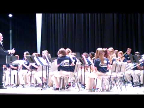 Alexis Flint spring concert Semmes Middle School 6th grade band(5)