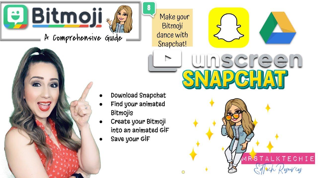How to Use Bitmoji on Snapchat [Video] | MobiPicker