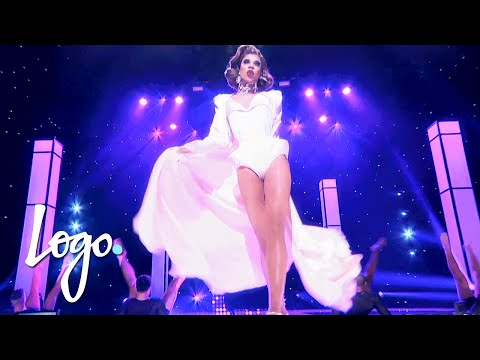 RuPaul's Drag Race (Season 8 Finale) | Naomi Small's 'Legs' Performance | Logo