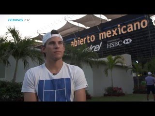 Thiem Ready For Test At Acapulco 2017
