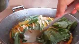 How to Cook Kare-Kare & Bagoong (PORK not Oxtail/Tripe) -TAGALOG