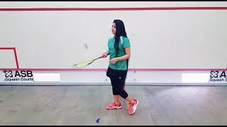 Longest hair girl Zahib Kamal squash, Sportswire Pakistan