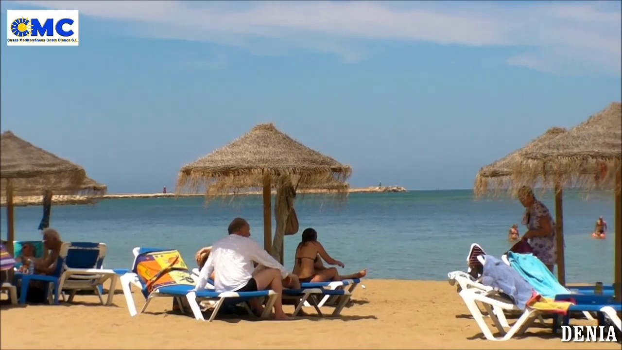 denia beaches spain costa blanca youtube