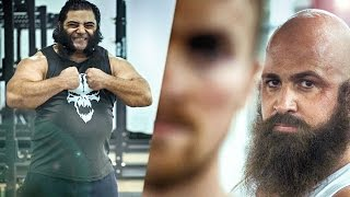 Strongman VS Bodybuilder   Powerlifter - STRENGTH WARS 2k15 #7