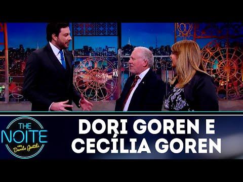 Monólogo: Danilo conversa com Dori Goren e Cecília Goren | The Noite (11/09/18)