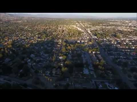 Drone High Above Chatsworth CA
