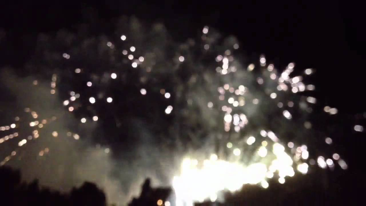 Happy Australia Day Fireworks From Sydney Olympic Park