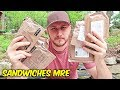 Testing Sandwiches MRE (Meal Ready toEat