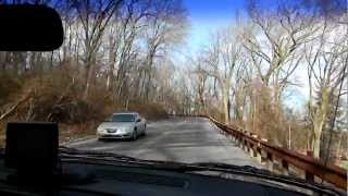 Driving to The Pagoda in Reading, Pennsylvania [720p]