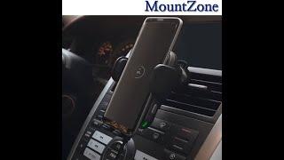 마운트존 자동차용품 차량용고속충전거치대-송풍구+대쉬보드