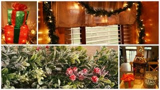Repeat youtube video Speed Clean & Decorate with Me! Kitchen | Christmas Holiday 2016 Decor