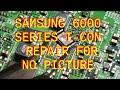 Samsung UN60EH6000 Series T-Con Repair BN95-00628