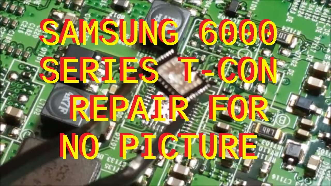 small resolution of samsung un60eh6000 series t con repair bn95 00628