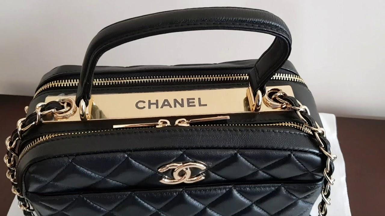 bb4ac8888 Bolsa Chanel Bowling A92238 - YouTube