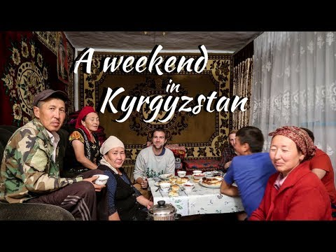 We spent a weekend in Kyrgyzstan ( A family took us hostage)