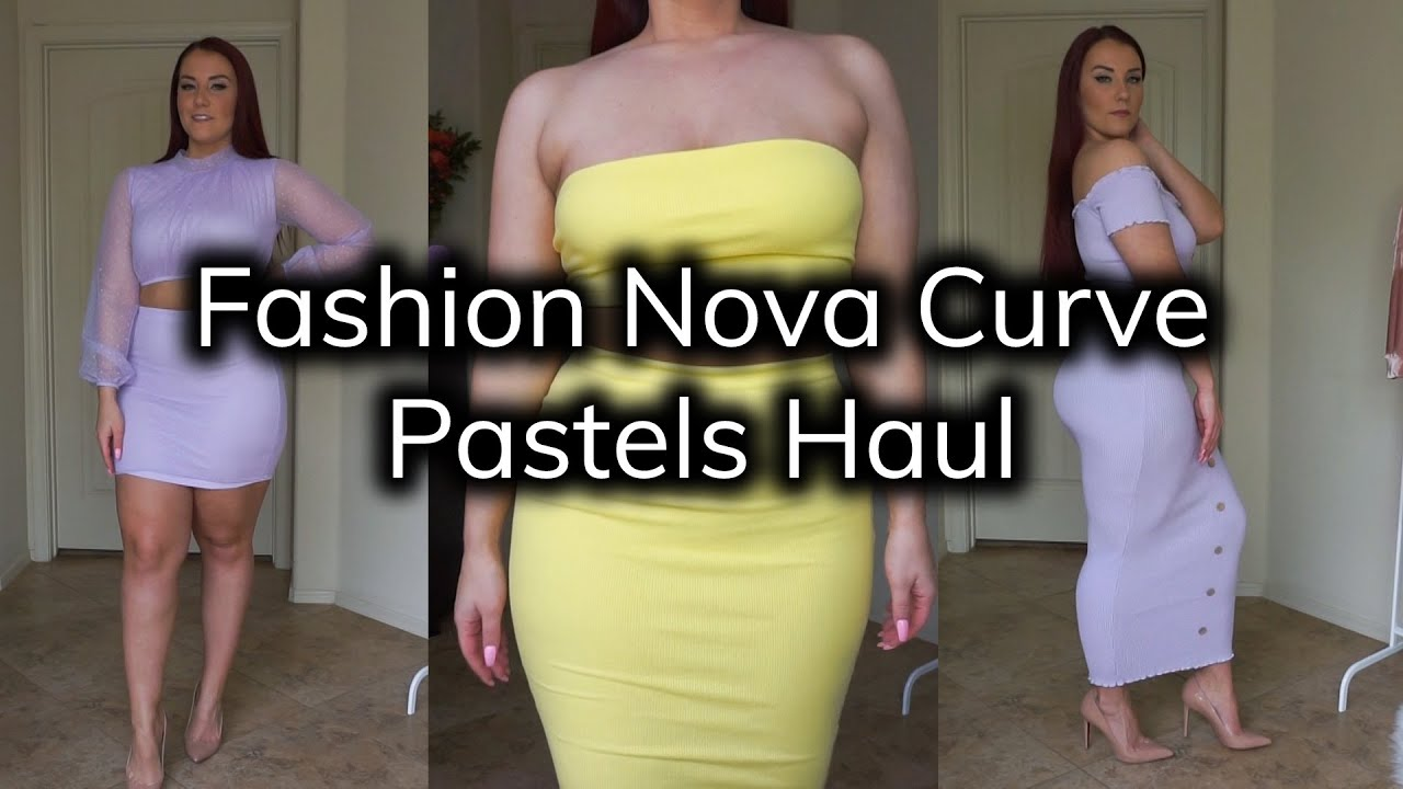 Fashion Nova Curve Spring 2019 Pastels Try On Haul | Ruby Red