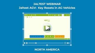 JALTEST WEBINAR | Jaltest AGV. Key Resets in AG Vehicles