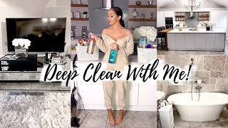 MASSIVE DEEP CLEAN WITH ME! //  EXTREME CLEANING MOTIVATION
